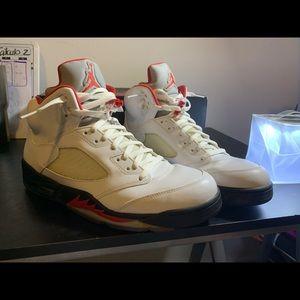 Air Jordan 5 Retro 5 Fire Red 2013 size 13